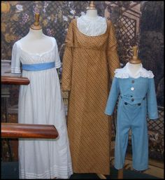 Assortment of early 19th Century Clothes.