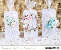 Today we begin with Emilia Sieradzan, AKA Lady E's trio of tags.