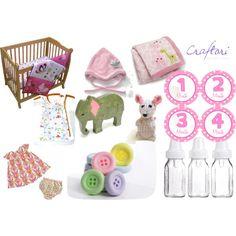 """Baby Girl Nursery"" by craftori on Polyvore"