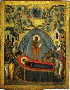 The Dormition (Falling Asleep) of the Theotokos (God-bearer) is one of the Great Feasts of the Orthodox Church, celebrated on August 15.