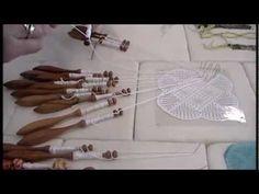 Nancy Today: Bobbin Lace making tutorial 5 Tombolo Crocheta