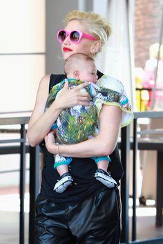 Gwen Stefani & Family: Fun at Dave & Busters