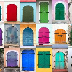 Cariribean Doors By Elena Zarubina | 500px
