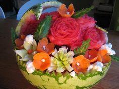 Täytekakkupohja - Kermaruusu - Vuodatus.net Acai Bowl, Watermelon, Fruit, Breakfast, Food, Acai Berry Bowl, Morning Coffee, Essen, Meals