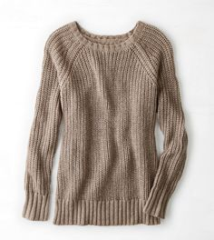 AEO Neutral sweater. I would want this probably in something 3x or 4x my actual size.