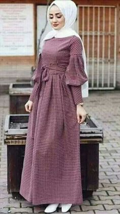 long sleeve party dresses with hijab Muslim Women Fashion, Modern Hijab Fashion, Abaya Fashion, Modest Fashion, Fashion Clothes, Fashion Dresses, Clothes Women, Hijab Dress Party, Hijab Style Dress