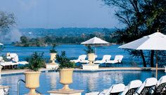 The Royal Livingstone hotel at Victoria-falls is quite unique for its warm and unlimited hospitality.