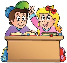 Two children at school desk vector image on VectorStock Art Drawings For Kids, Drawing For Kids, Lohri Wishes, School Clipart, School Desks, Second Child, Adobe Illustrator, Coloring Books, Vector Free