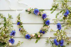 Så binder du sommarnattens vackraste krans! Midsummer wreath.