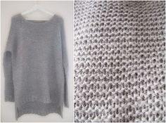 Oman kuplansa sankari: Skappel-neule Sankari, Handicraft, Knit Crochet, Elsa, Tote Bag, Knitting, Womens Fashion, Pattern, Sweaters