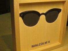 Famous Glasses: MALCOLM X