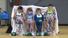 Fifth grade boys reveal onesie costumes at school talent show; has audience crying with laughter Onesie Costumes, Christmas Concert, Christmas Skits, Dancing Baby, Lip Sync, 5th Grades, School Fun, Cool Kids, Onesies