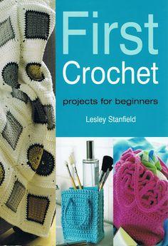 First Crochet - Lita Z - Álbuns da web do Picasa Crochet Cross, Crochet Home, Cute Crochet, Irish Crochet, Crochet Yarn, Crochet Stitches, Crochet Patterns, Crochet 101, Beginner Crochet Projects