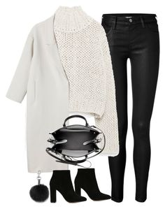 """Untitled#3821"" by fashionnfacts ❤ liked on Polyvore featuring moda, J Brand, Zara, Monki, Gianvito Rossi, Balenciaga y Rebecca Minkoff"