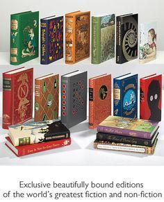 The Folio Society.  Pretty books.