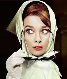 Audrey Hepburn in Charade, 1963