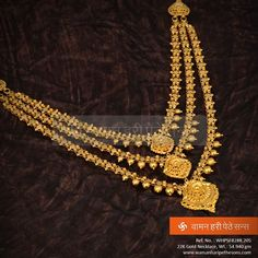 Jewelry reflects you as a person. #Beautiful #Ethnic #Gold #Necklace from our collection that describes you in person.