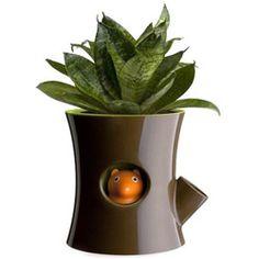 LouLeChien - Qualy -  origineel bloempotje met waterreservoir