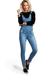 Willow Blue Super Skinny Dungarees