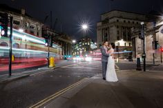 This location is easily identifiable and I like the movement whilst maintaining the focus on the couple.