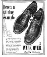 Walk-Over Shoes 1945 Ad Picture