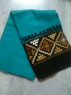 Embroidery On Kurtis, Kurti Embroidery Design, Hand Work Embroidery, Indian Embroidery, Modern Embroidery, Crewel Embroidery, Hand Embroidery Designs, Embroidery Patterns, Machine Embroidery