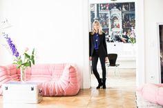 O apartamento em Berlim de uma mulher muito criativa