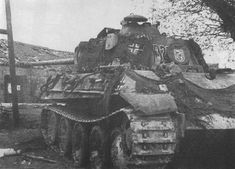 Panther from SS Division Frundsberg.