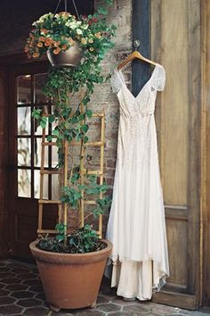 that dress.  this place.  i don't have a wedding board but if i did it would be all of this.