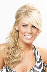 gretchen rossi side ponytail