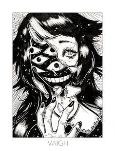 Pin do(a) dark fantasy is the best fantasy em dark fantasy de 2019 Arte Horror, Horror Art, Art And Illustration, Character Art, Character Design, Vent Art, Creepy Art, Wow Art, Manga Girl