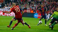 Arjen Robben v Barcelona 5-01-13