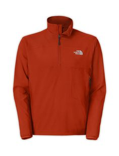 The North Face Men's Shirts & Sweaters MEN'S NIMBLE ZIP SHIRT