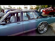 2 Door Box Chevy on 26S - Box Chevy Caprice W Pro Charged Motor On - 2 Door Box Chevy on 26S