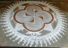 Indumathy Rangoli Ideas, Rangoli Designs Diwali, Kolam Rangoli, Kolam Designs, Mehandi Designs, Alpona Design, Latest Rangoli, Diy Diwali Decorations, Padi Kolam