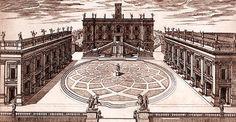 Michel-Ange, Place du Capitole, à partir de 1548, Rome Musei Capitolini