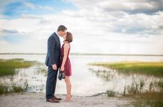 Beautiful lake engagement  Photo By Eternal Light Photography