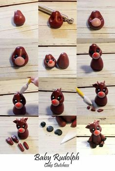 Baby Rudolph Picture Tutorial