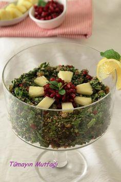 NARLI ISPANAK SALATASI http://www.tumayinmutfagi.com/TarifYorum-771-yemek-tarifleri_narli-ispanak-salatasi.htm