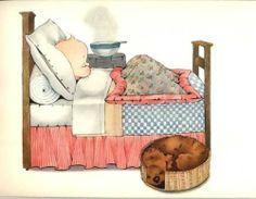Children's Illustrations Peek A Boo Safe Asleep Chloe Preston C1912   eBay