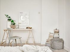 Duvet day in this beautiful bedroom?!   w o r k s p a c e