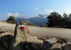 Señal del sendero de gran recorrido GR-10 en el collado Marichiva. Foto: Marga Estebaranz