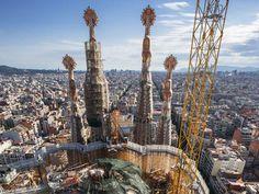 La Sagrada Familia de Antoni Gaudí situada en Barcelona