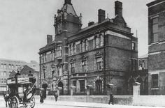 photograph of Bethnal Green Infirmary, Cambridge Heath Road, circa 1904 Old London, East End London, Bethnal Green, London Pictures, London Photos, London History, British History, St James The Greater, Old Hospital