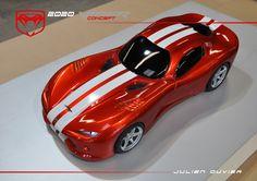 2020 VIPER CONCEPT 1/8 foam model by Julien Ouvier Copyrights Julien Ouvier