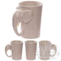 Tazza-Mug-in-Ceramica-con-Manico-a-Forma-Testa-di-Elefante-Idea-Regalo-Colazione
