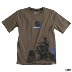 Carhartt Boys Live To Ride Graphic Short-Sleeve T-Shirt Presents For Boys, Good Buddy, Carhartt, Little Boys, Outdoor Gear, Boy Outfits, Tees, Shirts, Charcoal