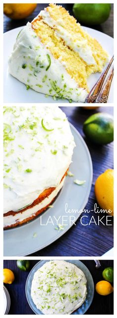 Lemon-Lime Layer Cak