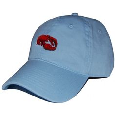 Lobster Needlepoint Hat in Sky Blue by Smathers & Branson    http://www.countryclubprep.com/lobster-needlepoint-hat-in-sky-blue-by-smathers-branson.html