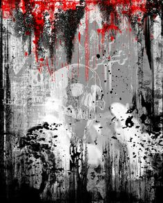 "New Media, ""Unredeemed"" Saatchi Online, Online Gallery, New Media, All Art, Artsy Fartsy, Saatchi Art, Art Drawings, Skull, Walls"